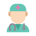 Medical Healthy Doctor Icon