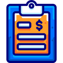 Document Note Financial Icon