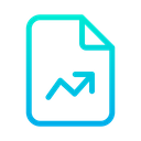 Document Data File Analytics File Icon