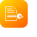 Document Paper Key Icon