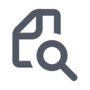 Document Search Search File Search Paper Icon