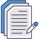Paperwork Documents Documentation Icon