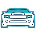 Dodge Auto Travel Icon