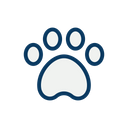 Dog Footprint Icon