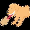 Dog React Puppy Pet Icon