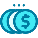 Coin Money Cash Icon