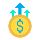 Dollar Growth Business Growth Money Growth Icon