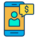 Dollar mobile Icon