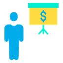 Dollar presentation Icon