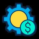 Dollar setting wheel Icon