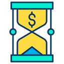 Dollar time Icon
