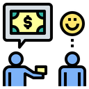 Borrow Charity Debt Icon