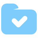 Done Folder Symbol Icon