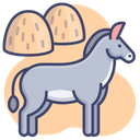 Mule Animal Burro Icon