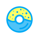 Donut Cook Cooked Icon