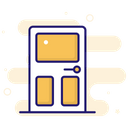 Door Exit Log Out Icon