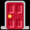 Door Enterance Red Icon