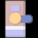 Door Handle Entrance Icon