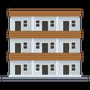 Dormitory Building Architecture Icon
