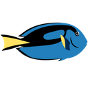 Dory Blue Tang Fish Icon