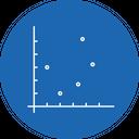 Dot Graph Chart Icon