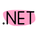 Dot Net Technology Logo Social Media Logo Icon