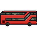 Double Decker Bus Bus Transport Icon
