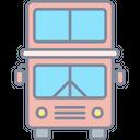 Double Decker Bus Public Transport Bus Icon