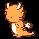 Down Unhappy Sticker Icon
