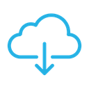 Download Cloud File Icon