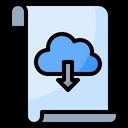 File Paper Folder Icon