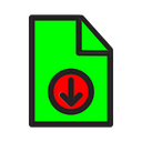 Download Time Email Icon