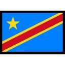 Dr Congo Flag Icon