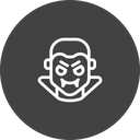 Dracula Evil Ghost Icon