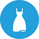 Dress Gown Wedding Icon