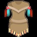 Dress Boho Decoration Icon