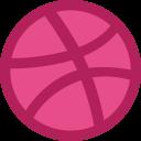 Dribbble Logo Social Icon