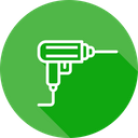 Drilling Machine Drill Icon