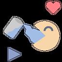Drink Water Enjoy Game Icon