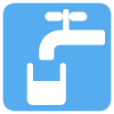 Drinking Potable Water Icon