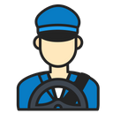 Avatar Driver Man Icon