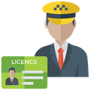 Driving License Icon