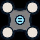 Drone Device Remote Icon