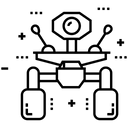 Drone Camera Quadcopter Camera Icon