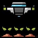 Drone Farming Drone Droneagriculture Icon
