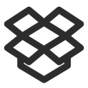 Dropbox Logo File Icon