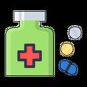 Drug Capsule Pill Icon