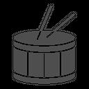 Drum Music Instrument Drumstick Icon