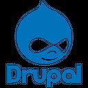 Drupal Plain Wordmark Icon