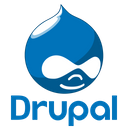 Drupal Original Wordmark Icon